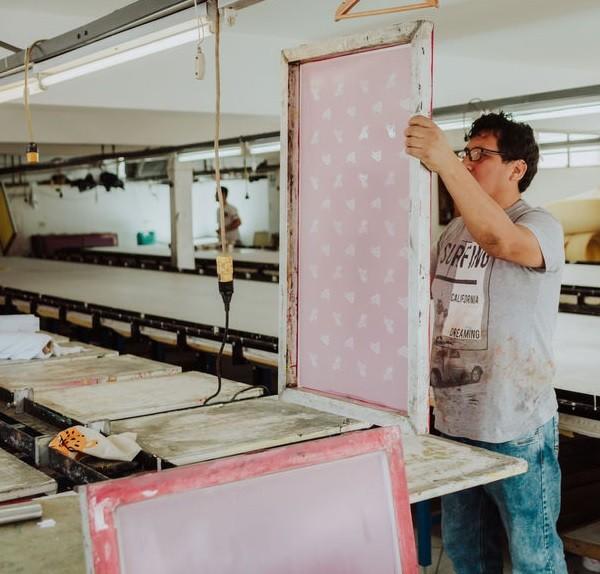 Cuadro para Serigrafia Textil en Ditex
