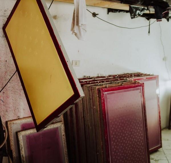 Cuadros para serigrafía textil en Ditex.