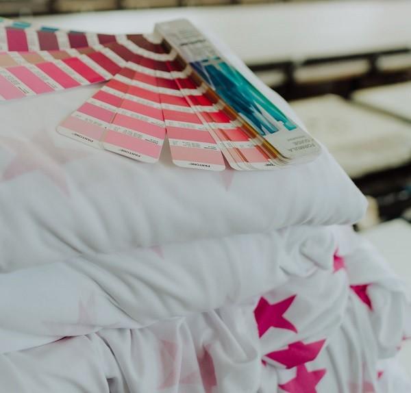 Pantone de colores para Serigrafía Textil en Ditex.