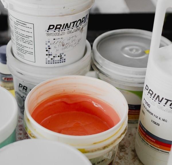 Insumos printop para Serigrafía Textil en Ditex.