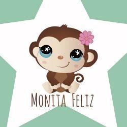 Logo Monita Feliz